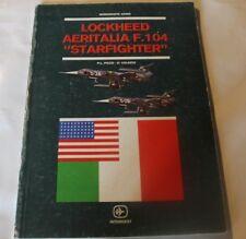 AERITALIA LOCKHEED F-104 STARFIGHTER PAPERBACK BOOK ITALIAN EDITION AIRPLANE JET