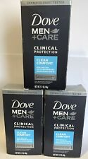 Lot of 3 Men+Care, Clinical Protection, Anti-Perspirant Deodorant 1.7oz - Sealed