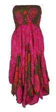 Bandeau Junglee Dress Hippie Boho Gypsy Beach Summer Size 12 14 16 18 20