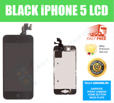 Full iPhone 5 LCD Digitizer remplacement Screen GENUINE OEM écran noir A1428