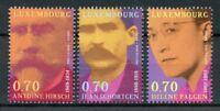 Luxembourg 2018 MNH Personalities Antoine Hirsch Helene Palgen 3v Set Stamps