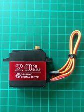 20 KG RC Servo Impermeabile con guscio in alluminio DS3218 Metal Gear digitale