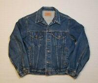 VTG Vintage Levi's Denim Trucker Jacket  70506-0216 Size 42 EUC