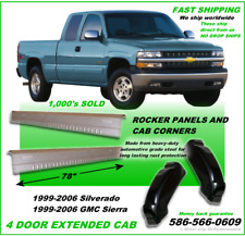 ROCKER PANELS AND CAB CORNERS CHEVY SILVERADO GMC SIERRA 1999-2006 - ON SALE