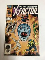 X-Factor (1986) # 6 (F/VF) | 1st Full Appearance Of Apocalypse !