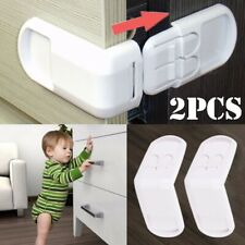 2pcs Baby Safety Drawer Lock Children Kids Security Protection Cabinet Door Lock