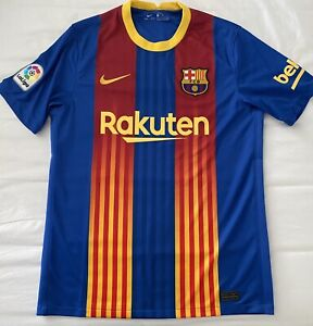 Nike FC Barcelona Home Soccer Jersey. Adult Size: XSmall
