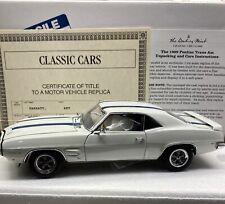 Danbury Mint 1969 Pontiac Trans Am 1/24 Scale VERY NICE