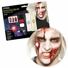 Walking Dead Zombie SFX Makeup Kit Horror Halloween Gore Accessory Artist Party