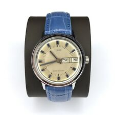 Vtg Timex Marlin Watch 1976 Automatic Day Date Mint Self Winding 26851 02776
