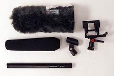 Sennheiser MKH416 W/ Rycote Softie & Shock Mount Kit