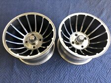 VINTAGE PAIR (2) 15x10 TURBINE HURRICANE VECTOR MAG WHEEL VW 4 ON 130 MANX DUNE