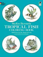 Tropical Fish Coloring Book (Dover Nature Coloring Book) by Stefen Bernath