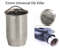 Universal 2in Motorcycle Exhaust Insert Can DB Killer Silencer Muffler Baffle