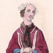 Portrait Couleur Marguerite de Lussan Femme de Lettres Romancière