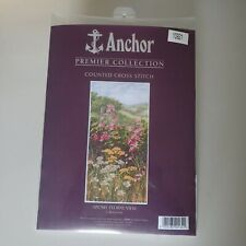 Anchor Premier Counted Cross Stitch Kit Floral View Apc041