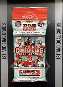 2020 Panini Contenders Football Cello / Value Pack NFL