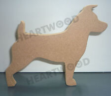JACK RUSSELL DOG SHAPE 1 IN MDF (150mm x 18mm thick)/WOODEN CRAFT SHAPE