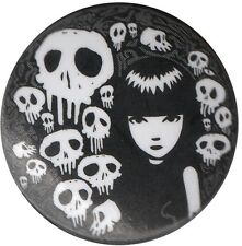 Emily the Strange 1 inch Button Pin Badge