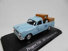 Peugeot T4B Pick Up RH Automotores (1967) 1/43 Voiture SALVAT Model Car SA14