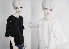 Classic White Shirt for 1//4 1//3 SD17 Uncle BJD SD MSD Doll Clothes CMB4