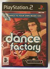 PS2 Dance Factory (2006), UK Pal, New & Factory Sealed