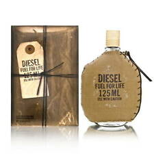 Diesel Fuel for Life by Diesel for Men 4.2 oz EDT Spray Brand New