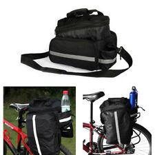 0742981aa3e Shoulder Handbag Cycling Bicycle Bike Storage Pannier Saddle Rack Rear Seat  Bag