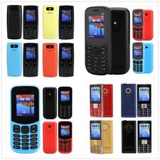 130 1.77inch Screen 3000 mAh Dual SIM Straight Big Buttons Quad Band Cellphone
