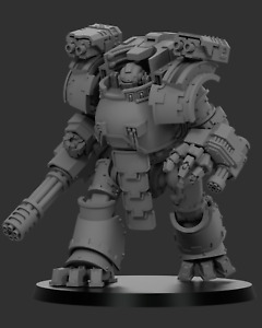 """Gothic Sci-Fi 28/30mm """"Redemptus"""" Dreadnought - Compatible with Warhammer 40k"""