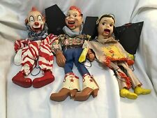 Howdy Doody Marionettes Clarabell Summer Fall Winter Spring and Howdy Peter Pupp