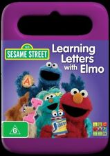 Sesame Street - Learning Letters With Elmo (DVD, 2012) R4