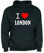 SUDADERA CAPUCHA I LOVE LONDON