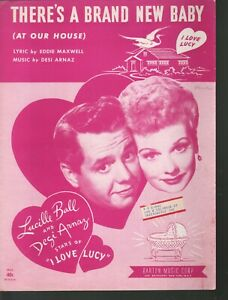 There's A Brand New Baby At Our House 1953 I Love Lucy Lucille Ball Desi Arnaz