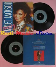 LP 45 7'' JANET JACKSON Nasty You'll never find 1986 england A&M no cd mc dvd