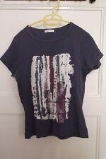 """hübsches Baumwoll - T-Shirt mit Aufdruck """"work is an art"""" Gr. 40, von Promod"""