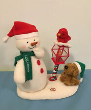 2013 Hallmark Jingle Pals Merry Carolers Animated Singing Snowman Music Works