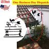 Vintage Rooster Weather Vane Direction Indicator Metal Iron Wind Speed Spinner