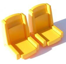 Playmobil ferrocarril 2 x 4016 asiento ice Lok escaños pieza de repuesto 4018 4020 4119