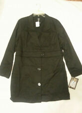 MedCouture Size 20 Black Lab Coat 8647
