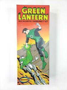 Moebius Model Kit GREEN LANTERN 1/12 Scale Part No. 924 DC Comics 2011