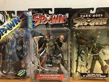 McFarlane Toys Re-Animated Spawn Action Figures Lot Of 3 Sealed