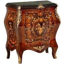 RESIDENZ LOUIS-KOMMODE 3-SCHUBLADEN CHEST of DRAWERS MARBLE-TOP COMMODE MÖBEL