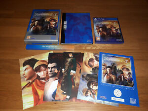 SHENMUE 1 & 2 playstation 4 PS4 sony limited collector's edition PIX'N LOVE