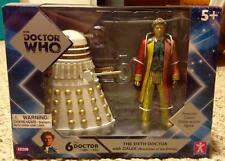 BBC Underground Toys Doctor Who 6th Doctor with Dalek Revelation of the Daleks