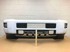 2015-2019 chevy silverado 2500-3500 front bumper w/ 4 sensors (summit white) #26