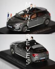 Norev Citroën DS5 Présidentielle 2012 Gris Galena 1/43 155593