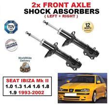 2x Amortiguadores Frontal Para Seat Ibiza Mk II 1.0 1.3 1.4 1.6 1.8 1.9 1993-2002
