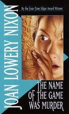 The Name of the Game Was Murder-ExLibrary