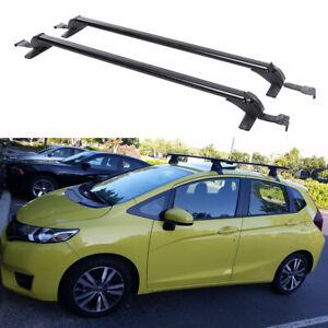 For Honda Fit 2006-2020 Hatchback Roof Rack Side Rail Luggage Carrier Cross Bars